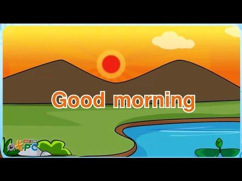 เพลงภาษาอังกฤษ good morning