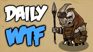 Dota 2 Daily WTF - The dark side of the map