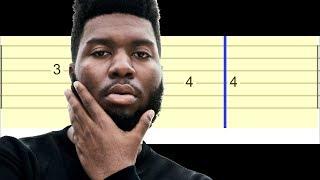 Khalid - Young Dumb & Broke (Easy Guitar Tabs Tutorial)