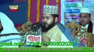 মাওলানা সালাহ উদ্দিন আইয়্যুবী সাহেব মোবাইলঃ 01832-596565 । নতুন ওয়াজ ২০১৭ ইং।