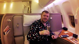 INCREDIBLE First Class on Cathay Pacific