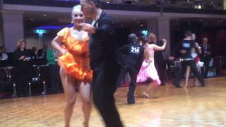 Dani and Sean Jive - Adult C Grade Latin - DIamond Jubilee 2016