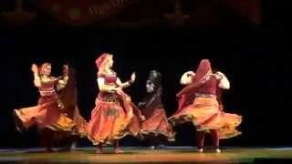 Rajasthani folk dance by Svetlana Tulasi and