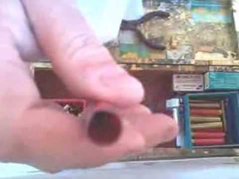método simples para recarregar cartucho cal 36