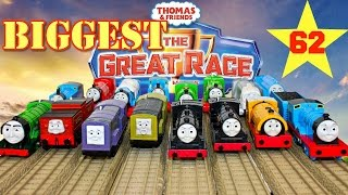 NEW THE BIGGEST! THOMAS AND FRIENDS THE GREAT RACE #62 TRACKMASTER TOY TRAINS THOMAS THE TANK ENGINE