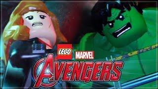 LEGO Marvel's Avengers | Hulk chases Black Widow (The Avengers)