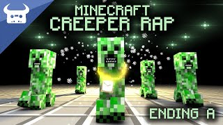 MINECRAFT CREEPER RAP | Dan Bull | ENDING A