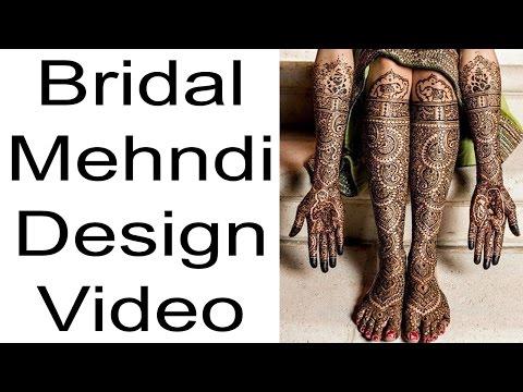 Xxx Mp4 Bridal Mehndi Latest Mehndi Design 2017 Full Bridal Mehndi 3gp Sex