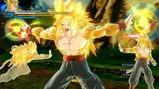 Super Saiyan 6 Goku, Solar Kamehameha! | Dragon Ball Xenoverse 2 MOD REVIEWS