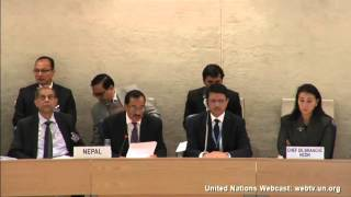 Nepal Review   23rd Session of Universal Periodic Review