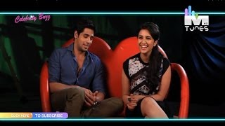 Sidharth Malhotra and Parineeti Chopra talk about their Lip Lock in Hasee toh Phasee on MTunes HD