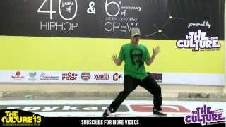Tushar Kapoor  Popping CC - I AM HIPHOP Crew Judge Showcase at The Culture '13