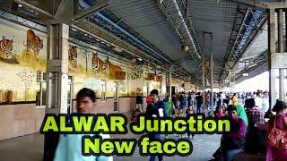 Alwar Junction railway station, Rajasthan INDIA