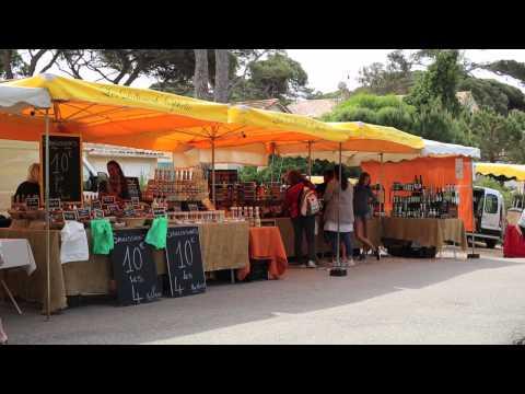 Le marché de La Capte à Hyères
