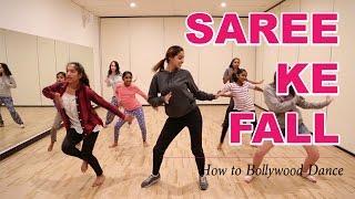 Saree Ke Fall (R...Rajkumar)    How to Bollywood Dance-Tutorial    Francesca McMillan