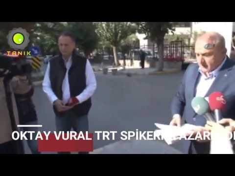 Oktay Vural TRT Spikerini Kovdu