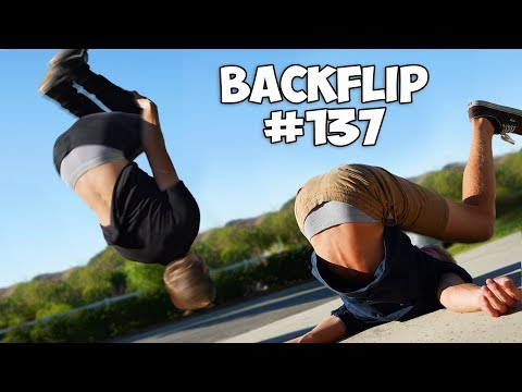 First Noob to Learn Backflip Wins 10 000