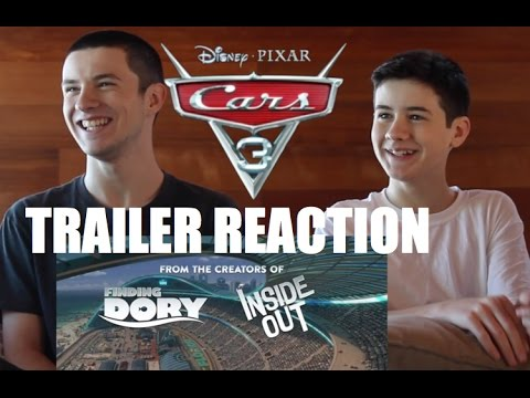 CARS 3 Official US Trailer Our Reaction