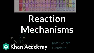 Introduction to reaction mechanisms | Alkenes and Alkynes | Organic chemistry | Khan Academy