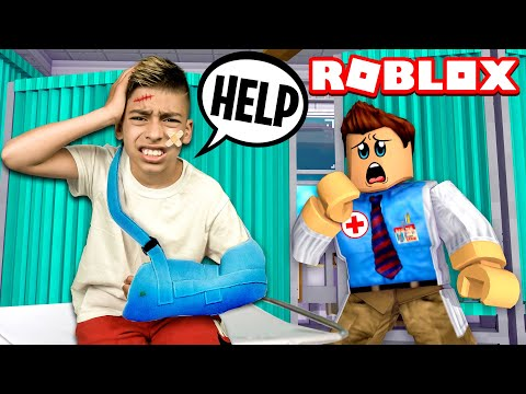 Ferran Ends up in The HOSPITAL in Roblox Brookhaven Royalty Gaming