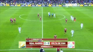ملخص مباراه ريال مدريد وسيلتا فيغو 4-0 أيمن جاده 9-1-2013