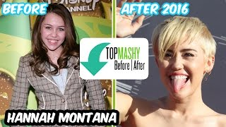 Disney - Hannah Montana casting crew before and after 2016