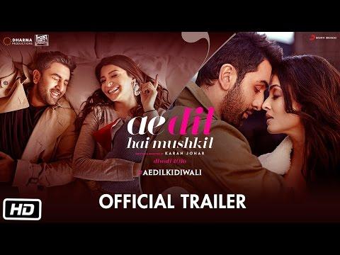 Xxx Mp4 Ae Dil Hai Mushkil Trailer Karan Johar Aishwarya Rai Bachchan Ranbir Kapoor Anushka Sharma 3gp Sex