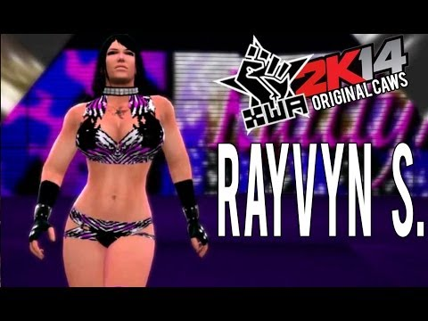 Rayvyn S.- XWA CAWS (WWE 2K14- PS3)