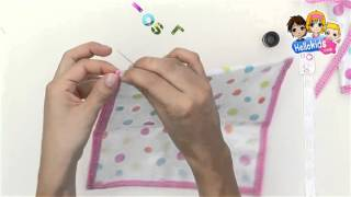 How to make fashion pencil case - Kids Craft (Hellokids)