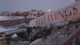 Russian plane crash: Amateur video shows immediate aftermath