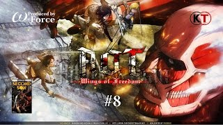 Attack on Titan - AOT - Wings of Freedom #8 Streaming - AppleSeed SaS