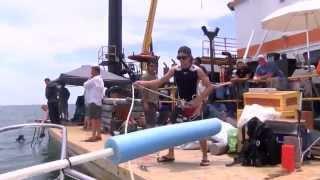 FOX10 tours movie set of USS Indianapolis: Men of Courage