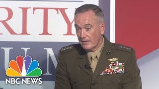Joint Chiefs Chairman Joseph Dunford: Russia Is The Greatest Threat America Faces | NBC News