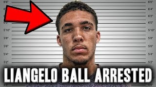 Liangelo Ball Arrested For Shoplifting | UCLA Recruit And Member Of Ball Family Arrested