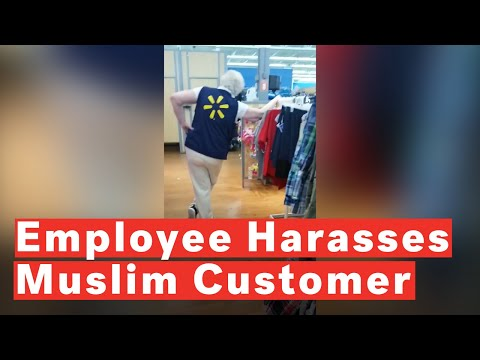 Xxx Mp4 Walmart Employee Harasses Muslim Customer 3gp Sex