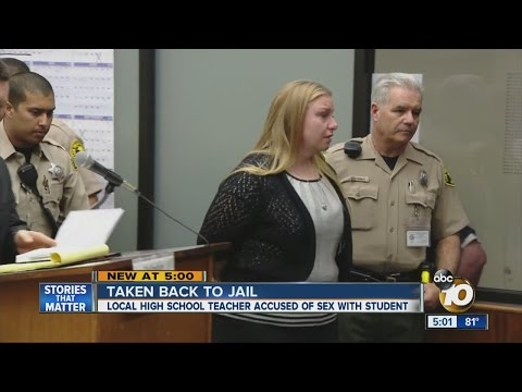 Xxx Mp4 High School Teacher Accused Of Sex With Student Taken Back To Jail 3gp Sex