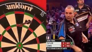 Grand Slam of Darts | Semi-Final | Phil Taylor vs. Adrian Lewis (All 32 180's)
