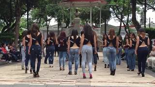 World s Hottest and Sexiest dance EVER   Kizomba Flashmob French Lady Style in France & USA