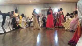 Indian Wedding Reception Dance 2014