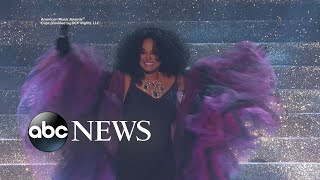 Diana Ross, Pink steal the show at the 2017 AMAs