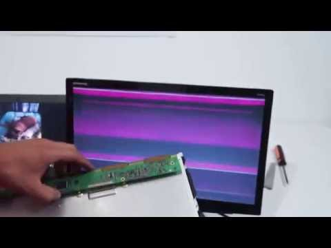 Tutorial as knowing when the screens are bad LCD and LED