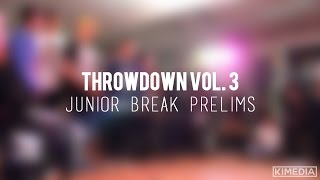 Junior Break Prelims | Throwdown Vol. 3