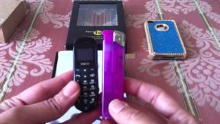 Tiny Smallest Spy Mobile Phone CZ J8 Long 3 in 1 Bluetooth quick review. Smaller then a lighter.