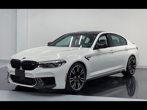 2019 BMW M5 COMPETITION M PERFORMANCE Revs Walkaround in 4k