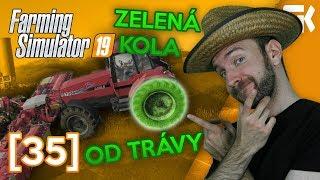 ZELENÁ KOLA OD TRÁVY! | Farming Simulator 19 #35
