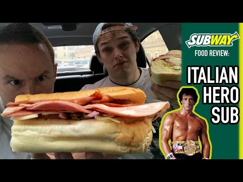 SUBWAY's Italian Hero Sub Food Review | Season 3, Episode 27