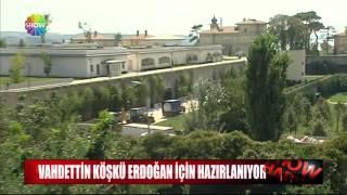 Vahdettin Köşkü Erdoğan için hazırlanıyor