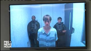 Watch the full bond hearing for suspect in Charleston church shooting
