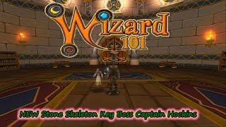 Wizard101 2017 Test Realm Stone Skeleton Key Boss Captain Hockins