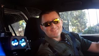 Citizen Pulls Cop Over, Gives Warning.